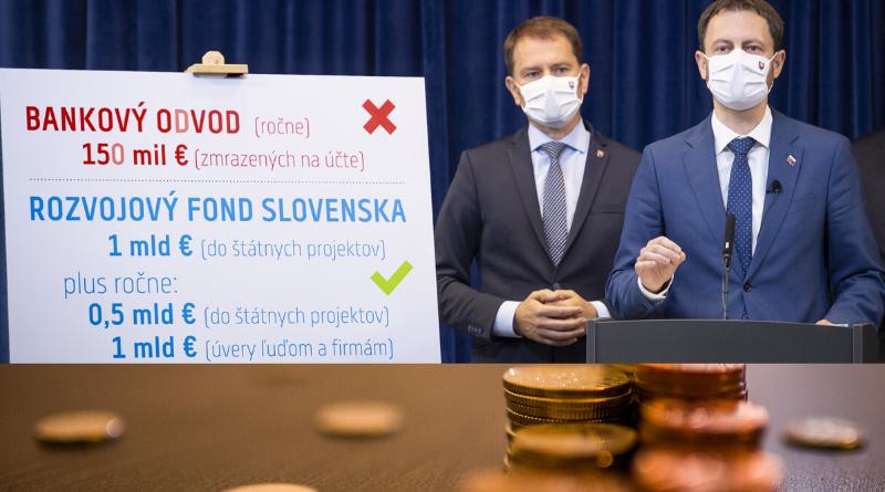 Matovičova vláda novou dohodu s bankami zrušila bankový odvod