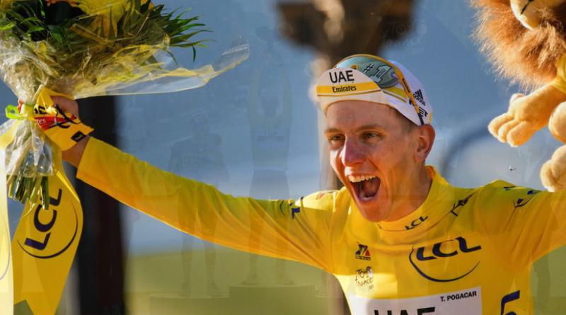 Pogačar znova ovládol Tour de France – získal tri dresy